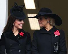 8 november: Kate Middleton en Koningin Máxima