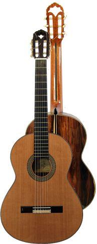 Ver Modelo Alcazar de Bolivia, Guitarra Clásica del Constructor Francisco Bros, en el Blog de guitarra Artesana