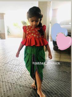 70 Ideas Children Models Ideas For 2019 Baby Girl Frocks, Frocks For Girls, Dresses Kids Girl, Kids Outfits, Kids Dress Wear, Kids Gown, Kids Wear, Kids Indian Wear, Kids Ethnic Wear