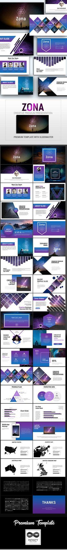 Zona Creative Presentation - #PowerPoint #Templates Presentation #Templates