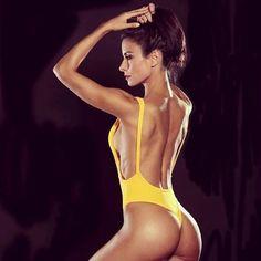 Malla Enteriza Retro/vintage Bikinis Body
