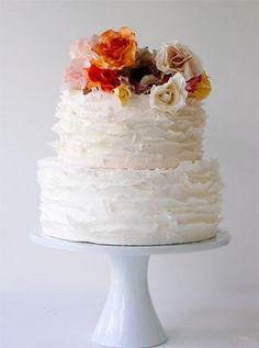 Torta nuziale per un matrimonio country-chic. Guarda altre immagini di torte nuziali: http://www.matrimonio.it/collezioni/torte_nuziali/5__cat