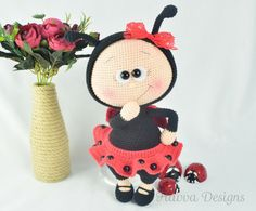 PATTERN   Bonnie With Ladybug Costume by HavvaDesigns on Etsy