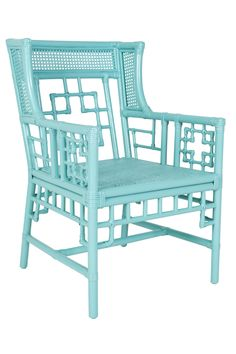 Regency Rattan Accent Chair, $795 by Society Social