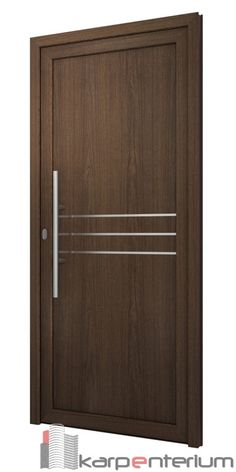 Interior wood doors are naturally beautiful. This is especially true if you are going to choose solid hardwood. Flush Door Design, Front Door Design Wood, Wooden Door Design, Internal Glazed Doors, Internal Wooden Doors, Wood Doors, Steel Doors, Bedroom Door Design, Door Design Interior