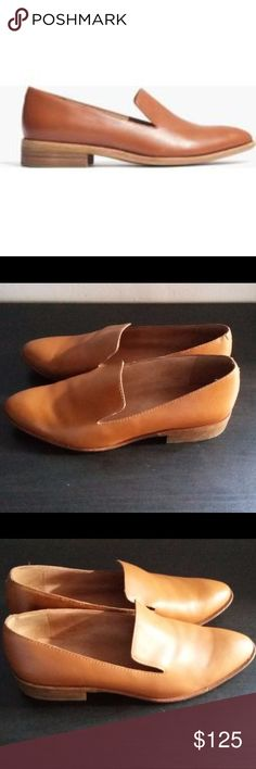 Selling this Madewell Cognac Orson Loafer - Sold Out Online on Poshmark! My username is: kjacobson0618. #shopmycloset #poshmark #fashion #shopping #style #forsale #Madewell #Shoes