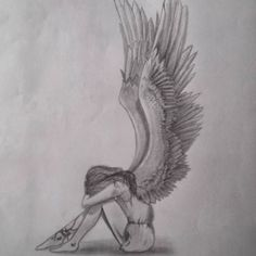 """Image search result for """"drawing with … – # … – - Sites new Cool Art Drawings, Pencil Art Drawings, Amazing Drawings, Art Drawings Sketches, Realistic Drawings, Angel Sketch, Angel Drawing, Easy Sketches, Art Inspiration Drawing"""