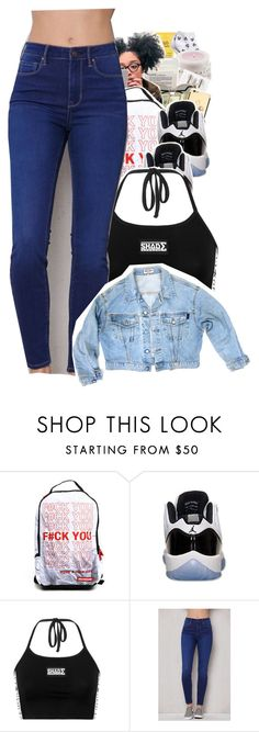 """""""Untitled #189"""" by trillest-kid ❤ liked on Polyvore featuring Have a Nice Day, Retrò, PacSun and GUESS"""