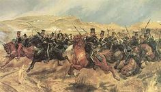 Into the Valley of Death: Battle of Balaclava: The Charge of the Light Brigade by Richard Caton Woodville Military Art, Military History, Military Diorama, Fine Art Prints, Framed Prints, Canvas Prints, Battle Of Balaclava, Valley Of Death, A4 Poster