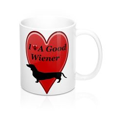 🌟🌟NEW TO OUR STORE! I Love A Good Wie... #tshirts #tanktops #sweatshirts #coffeecups #coffeelovers #mugs #iphone http://roccityteesandapparel.myshopify.com/products/i-love-a-good-wiener-dog-mug?utm_campaign=social_autopilot&utm_source=pin&utm_medium=pin