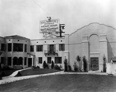 The original Walt Disney Studios at 2719 Hyperion in Hollywood