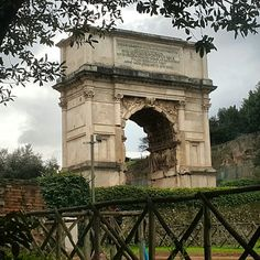 The Arch of Titus @ The Forum, Rome, Italy