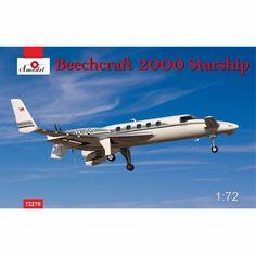 Beechcraft 2000 Starship №82850 Scale Plastic Model Kit by AMODEL 72279 #Amodel