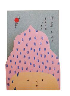 Nidi Natsumatsuri Exhibition (Group Show) by Grace Lee, via Behance