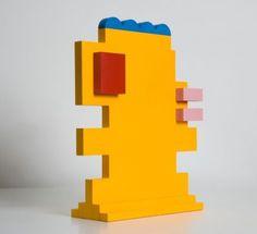 Gio Schiano Sculpture Sottsass Memphis Milano Martin Bedin Michele de Lucchi