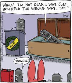 The Argyle Sweater Comic Strip, May 26, 2014 on GoComics.com