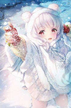 Ideas baby drawing anime for 2019 Anime Neko, Manga Kawaii, Loli Kawaii, Chica Anime Manga, Kawaii Anime Girl, Cool Anime Girl, Pretty Anime Girl, Cute Anime Pics, Anime Art Girl