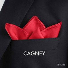 Cagney Pocket Square Fold Instructions                                                                                                                                                                                 More