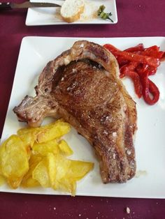 Chuleton de 1 kg. Restaurante Gure Etxea. San Juan de Alicante.