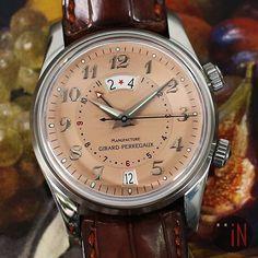 "REPOST!!!  ""Fruity Picks!"" #GirardPerregaux 38mm Traveller GMT Alarm Ref#: 4940  blog.elementintime.com 📧info@elementintime.com www.elementintime.com ☎646-756-4859  #picoftheday #traveller #GMT #watchesofinstagram #instapic #wristporn #luxury #jewelry #nyc #watchgeek #timepieces #dailywatch #mercedes #ferrari #instawatch #awesome #Chronograph #wristcandy #instantclassic #fashion #wristgame #art #swissmade #watchporn #watchfam #relojes #watchanish  Photo Credit: Instagram ID @element_in_time"
