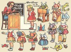 marilines - paper doll by sonobugiardo, via Flickr