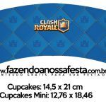 Saias Wrappers para Cupcakes Clash Royale Mini, Party, Party Kit, Fiesta Party, Parties