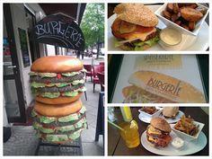 Burgerie in Berlin / Prenzlauer Berg: Organic Food! Geheim Tipp!