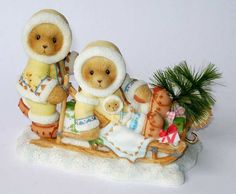 Heidi´s Cherished Teddies Galerie: MICHEL and KITTY - SHARING THE SEASON OF JOY TOGETHER (118392)