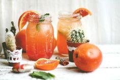 Blood orange margaritas for Cinco de Mayo