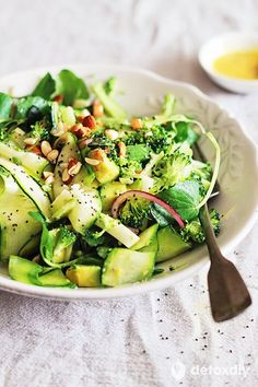 Master Cleanse Salad (My Secret Recipe)- all the benefits of the master cleanse in delicious, wholesome salad.