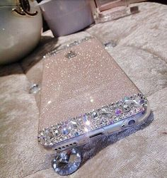 iPhone 6 6 Plus Glitter Rhinestone Diamond Bling Case Clear Crystal Bac - Iphone Plus Glitter Case - Iphone Plus Glitter Case ideas - iPhone! iPhone 6 6 Plus Glitter Rhinestone Diamond Bling Case Clear Crystal Back Cover Cool iPhone stuff Smartphone Iphone, Iphone 6 Cases, Cute Cases, Cute Phone Cases, Portable Apple, Capas Samsung, Accessoires Iphone, Coque Iphone 6, Bling