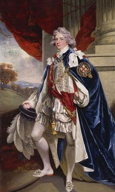 The birth of King George IV, on this day 12th August, 1762 Portrait of George IV, when Prince of Wales - John Hoppner