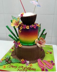 Hawaii Cake, Desserts, Food Cakes, Backgrounds, Tailgate Desserts, Deserts, Postres, Dessert, Plated Desserts
