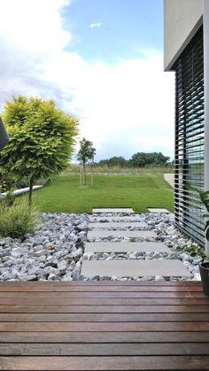 WhiteCube – ein modernes Architektenhaus in Wiener Neustadt » Terrasse / Garten