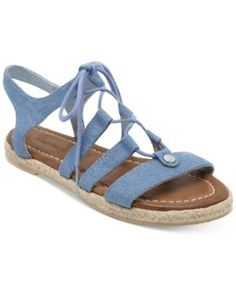 d2f688f30 Nautica Women s Multi Hull Espadrille Flats   Reviews - Sandals   Flip Flops  - Shoes - Macy s
