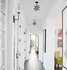 Hallway via Cottage Living.