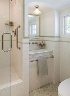 English cottage bathroom remodel
