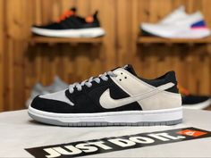 sports shoes 618bb 8ac15 Nike SB Dunk Low Wolf Grey Black White 854866-001 For Sale