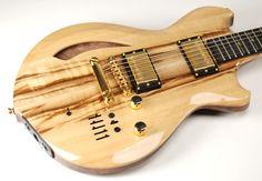 Breedlove electric guitar. Very Slick!