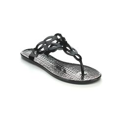 Qupid CELTIC-01 Women's Filp Flops Jelly Cut Out Thong Sandal -- Discover this special product, click the image : Jelly Sandals