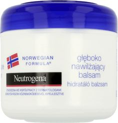 Neutrogena, Formuła Norweska, balsam do twarzy i ciała nawilżający, 300 ml