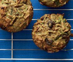 Zucchini Spice Bran Muffins