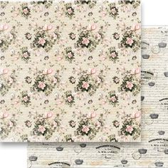 Papper Reprint - Flowers For You - Big Roses