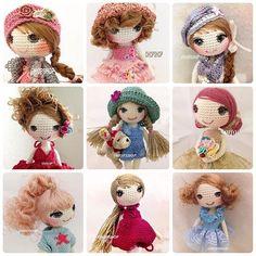 #muffinthedoll #surithedoll #crochet #crochetdoll#crochetdolls#amigurumi #handmade#handicraft #tiny #toy#toystagram #doll#dollstagram #cute#craft #kawaii #ohopshop #thailand