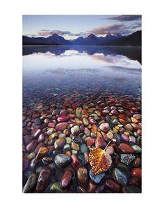 Lake McDonald Glacier National Park Art Print by Jason Savage at Art.com