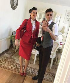 【イギリス】ヴァージン・アトランティック航空 客室乗務員 / Virgin Atlantic Airways cabin crew【UK】 Grace Perry, Flight Attendant, Photo And Video, Videos, Instagram, Style, Fashion, Swag, Moda