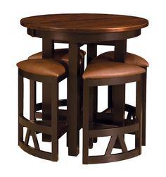 Details about Pub Table Set 2 Bar Stools Chairs 3 Piece Kitchen
