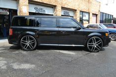 FLEX'in Modern Ford Muscle Done Bubba Style! - #Black #Ford #Flex #BubbasCustomCars - Photo #19045 Ford Flex, Water Powers, Porsche Boxster, Custom Cars, East Coast, Cars Motorcycles, Muscle Cars, Explore, Vehicles