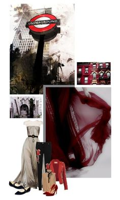 """""""Romance vs urbanization"""" by redheadlass ❤ liked on Polyvore featuring Christophe Josse, WearAll, Lover, Rupert Sanderson and Marc Fisher"""