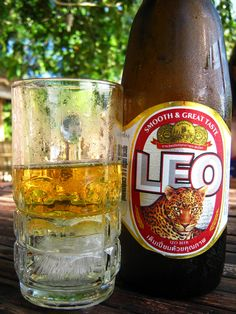 Ice cold Leo beer, Thailand - info about Thailand and Koh Samui: http://islandinfokohsamui.com/